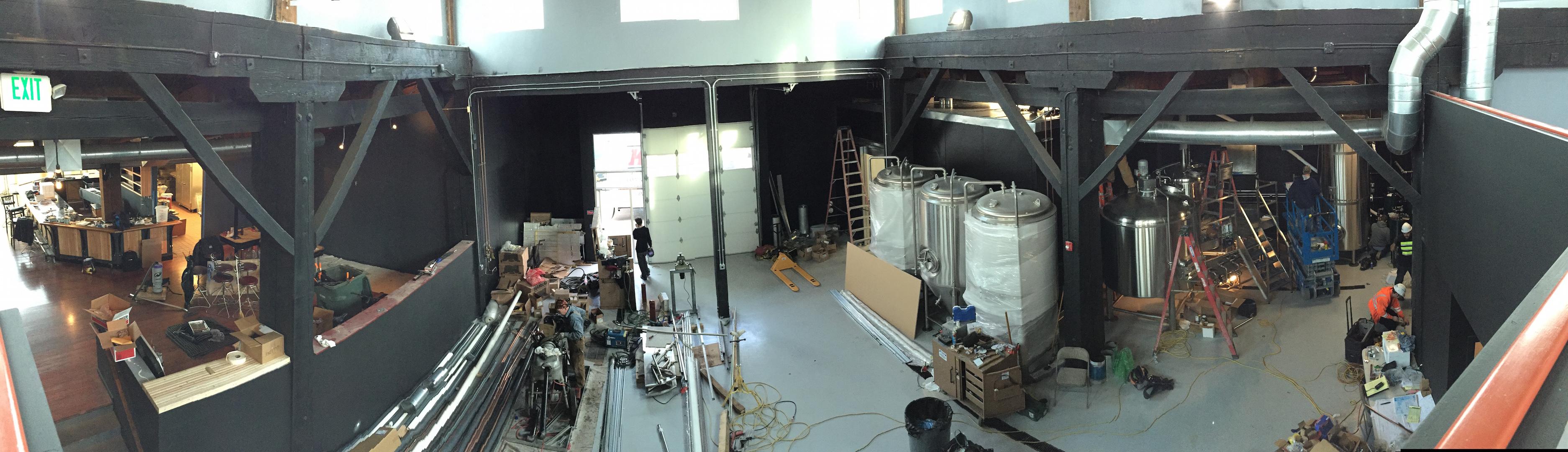 Ghostfish Brewery Progress Update 2014