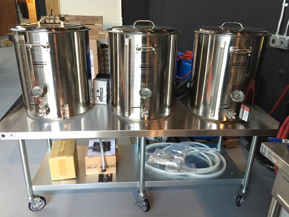 Ghostfish Brewing Pilot System