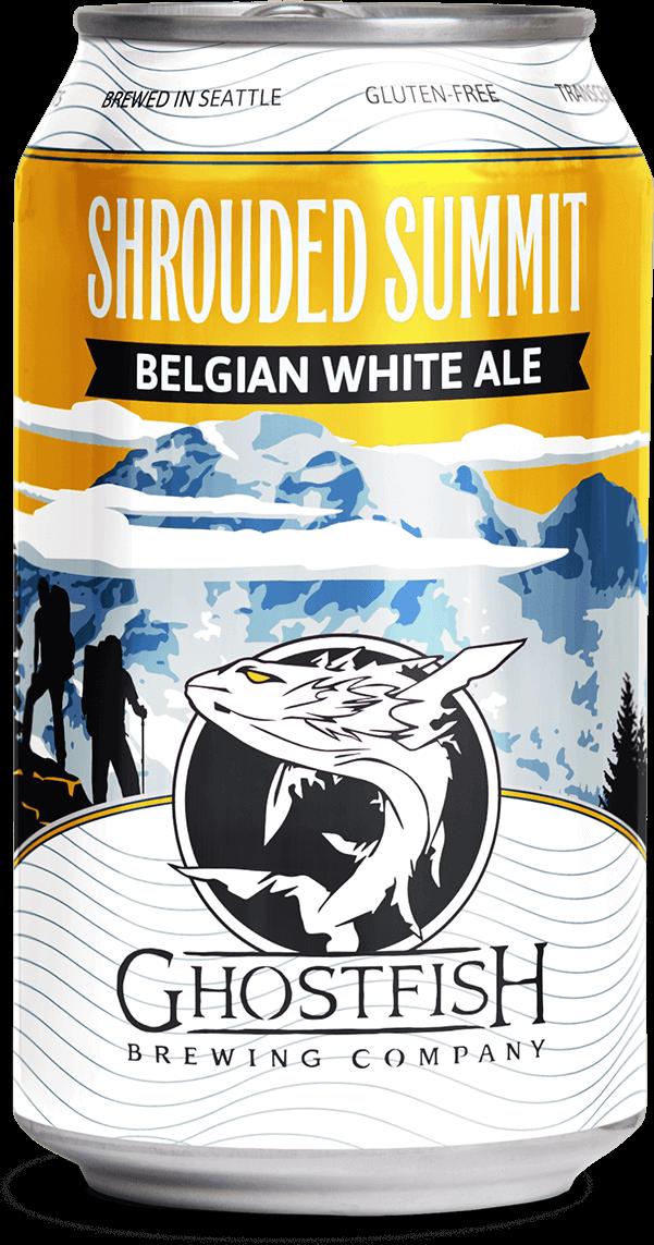 Ghostfish Brewing Shrouded Summit Belgian White Ale