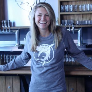 Ghostfish Brewing Crew Neck Grey Sweater