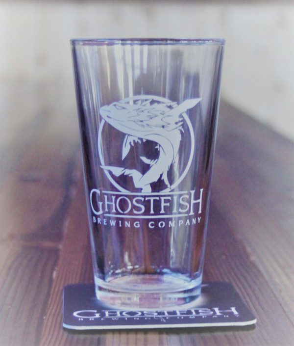 Ghostfish Brewing Pint Glass
